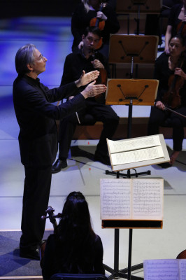 Founder and Artistic Director Michael Tilson Thomas