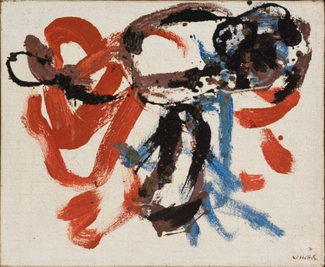 Insecto II, 1962, Oil on canvas, 14.96 x 18.11 inches (38 x 46 cm)