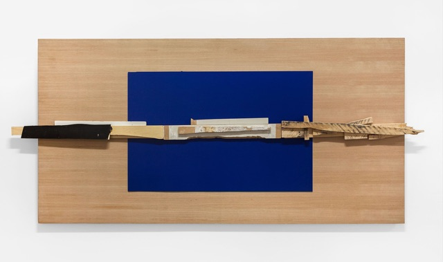 Bruce Kates, Untitled, 2015, Wood and mixed media,48 x 96 in.