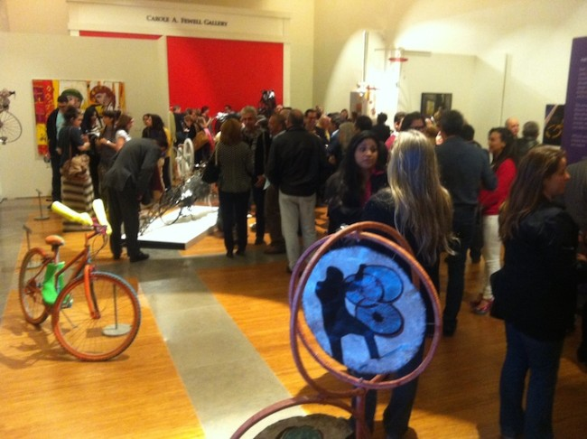 ARTcycle 2014 exhibit opening at Coral Gables Museum