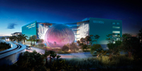 Patricia and Phillip Frost Museum of Science. Grimshaw Architects, 2012. Courtesy of  Miami Science Museum.