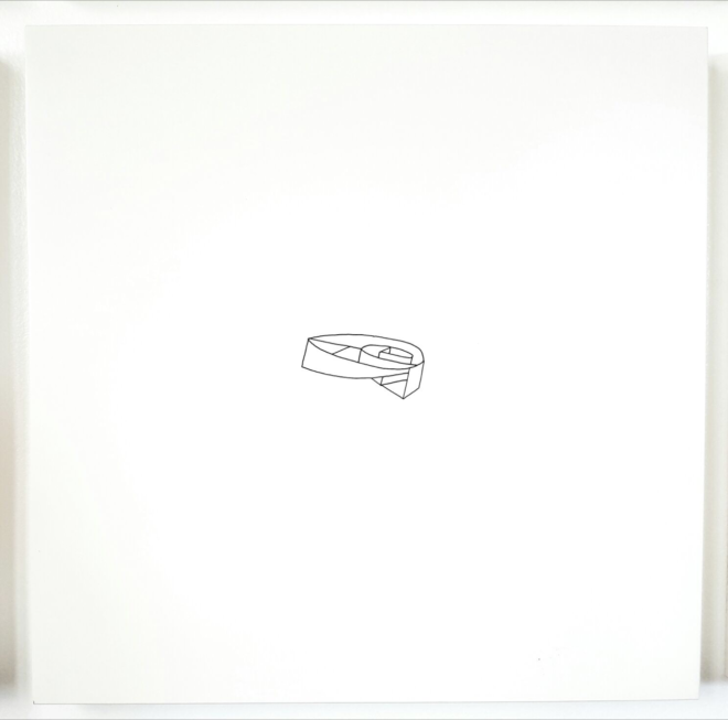 Andres Michelena, From the Series Countervision, 2012, Acrylic Paint / Ikea Board, 21.5 x 21.5 in.