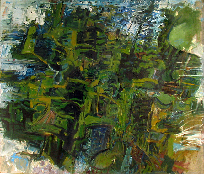 William Pachner, The Forrest, 1961, Oil on canvas, 50.5 x 42.75 in.