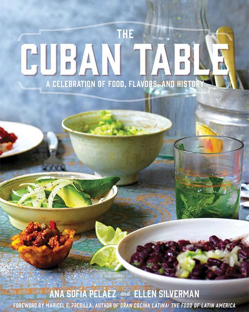 The Cuban Table Book Cover