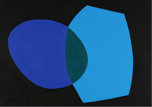 Untitled, 1968, acrylic on canvas, 23 x 28 in.