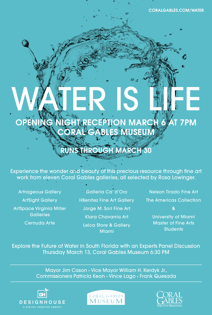 Water Is Life Flyer - Gallery Exhibition FINAL 1
