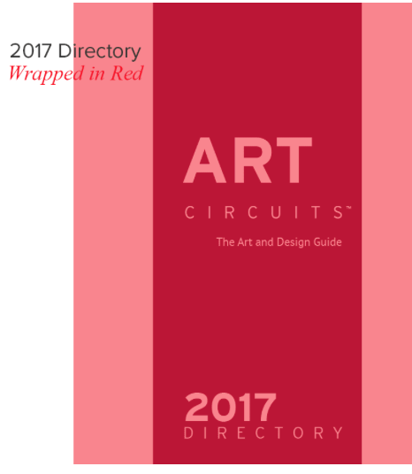 Wrapped in Red for Art Lovers @ artcircuits.com