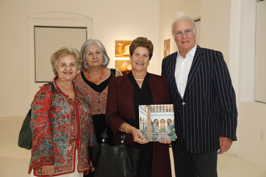Board members of the CINTAS Foundation celebrate the opening of the 2012 Finalists Exhibition alongside author Michael Connors (far right).