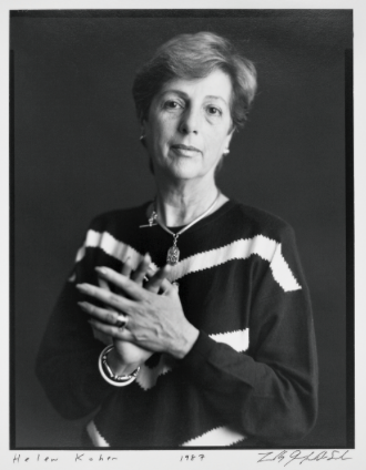 Helen L. Kohen, 1987. Photo by Timothy Greenfield-Sanders