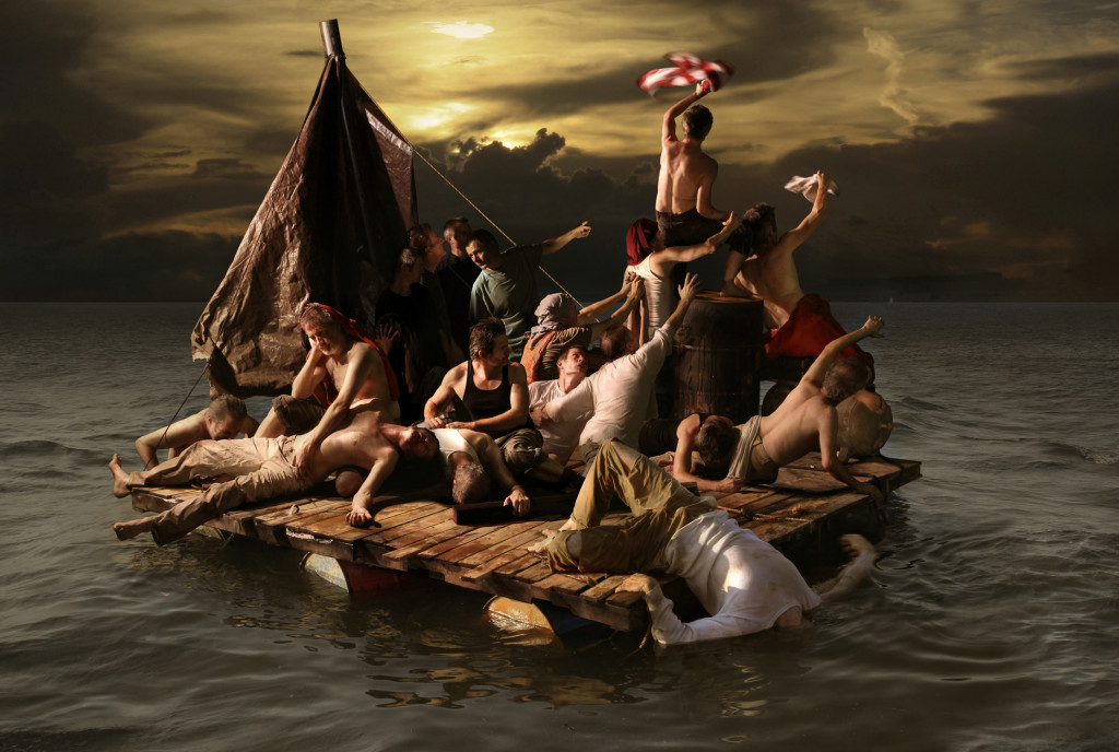G.A.S., The Raft, 2010, archival digital print on photographic paper, 30 x 40 in. archival digital print on photographic paper