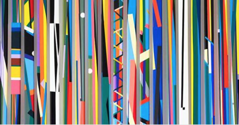 Israel Guevara. Color+Geometry @ ArtSpace Virginia Miller | Coral Gables | Florida | United States