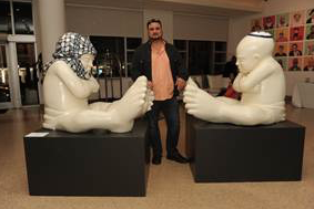 Artist Idan Zareski in conversation with Sebastien Laboureau @ Sagamore Hotel | Miami Beach | Florida | United States