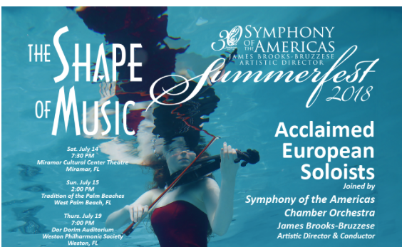 Symphony of the Americas Chamber Orchestra @ Miramar Cultural Center Theater | Miramar | Florida | United States