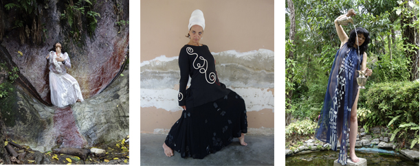 Elisabetta Balasso: Mystic Fashion Performance at Ninoska's @ Ninoska Huerta POP UP at Coral gables | Coral Gables | Florida | United States