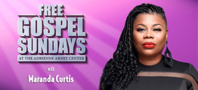 Free Gospel Sundays at the Adrienne Arsht Center @ Knight Concert Hall