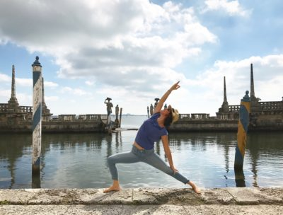Yoga with a View Featuring AirOn with the Vizcaya Museum @ Vizcaya Museum and Gardens