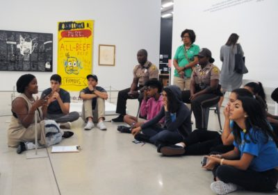 Free Community Night: Art & Social Justice with Football Unites @ PAMM