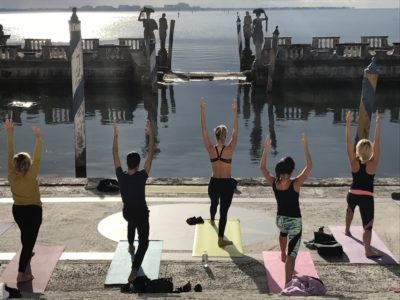 Yoga with a View @ Vizcaya