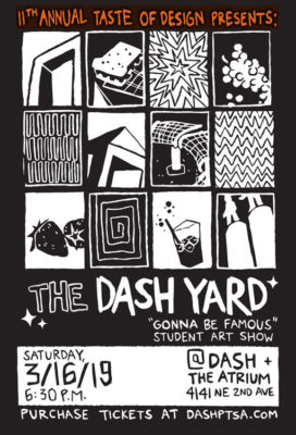 A Taste of Design: the DASH Yard @ The Atrium