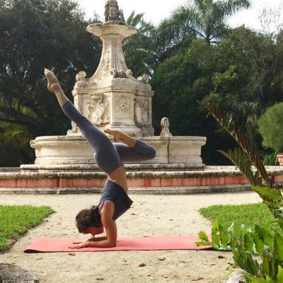 Yoga with a View @ Vizcaya