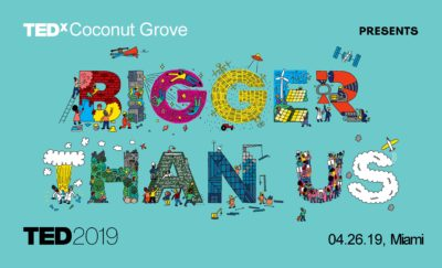 TEDx Coconut Grove Live @ Vizcaya