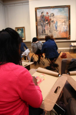 Drawing Salon @ Frost Museum