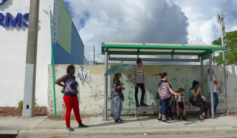 bs: a look @ bus stops in Miami-Dade @ HistoryMiami Museum
