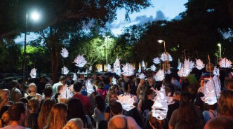 Glowing Lanterns Parade @ Vizcaya Museum and Gardens