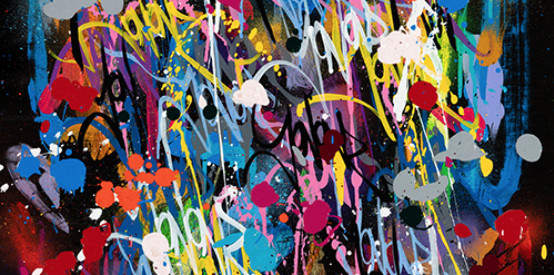 From Harlem to Paris to Wynwood: JonOne @ Fabien Castanier Gallery - Wynwood