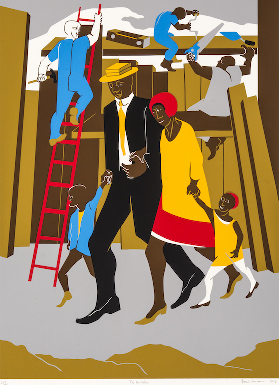 Prints of Jacob Lawrence @ Lowe Art Museum - UM Campus