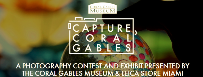 Capture Coral Gables Award Ceremony & Exhibit Opening @ Coral Gables Museum