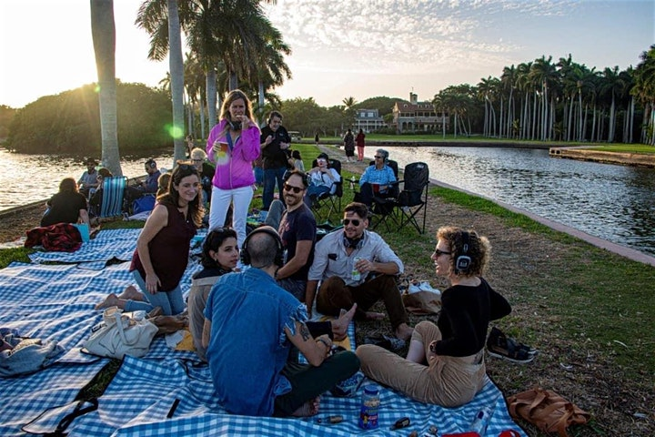 Silent Disco, Sunday Painter: For the Birds @ Fountainhead at Deering Estate