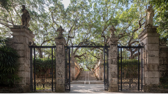 Vizcaya Gardens are Now Open to the Public
