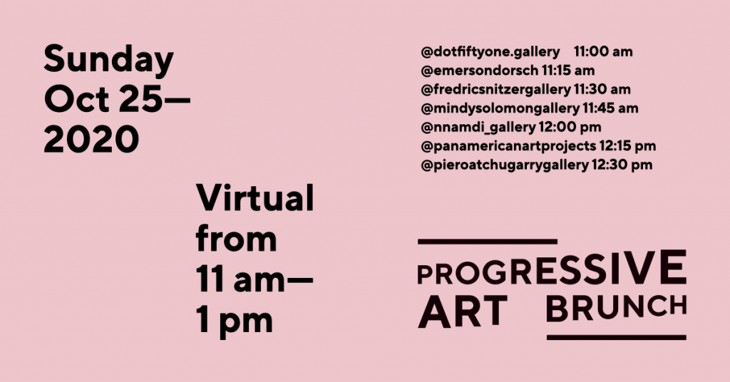 Virtual Progressive Art Brunch @ Instagram