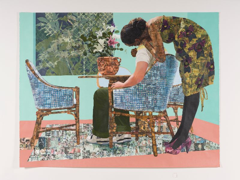 Njideka Akunyili Crosby in Conversation with Franklin Sirmans @ PAMM - Perez Art Museum -