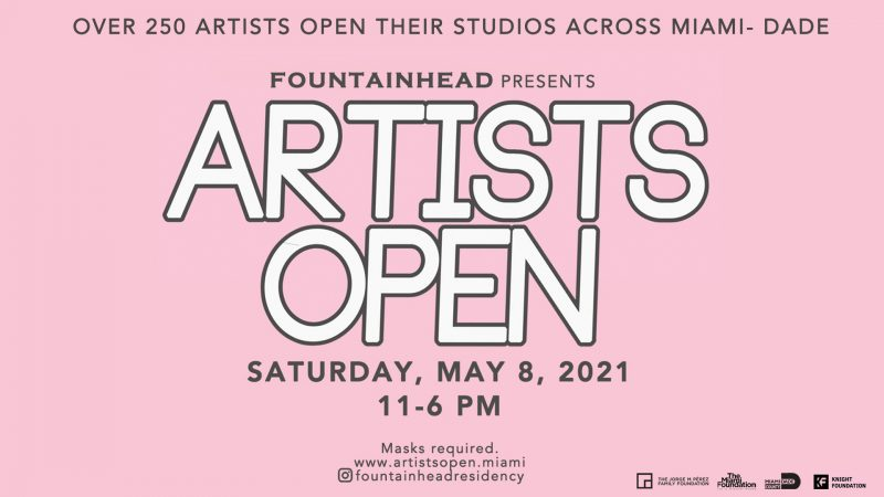 Artists Open : Directory & Map here @ Fountainhead Studios