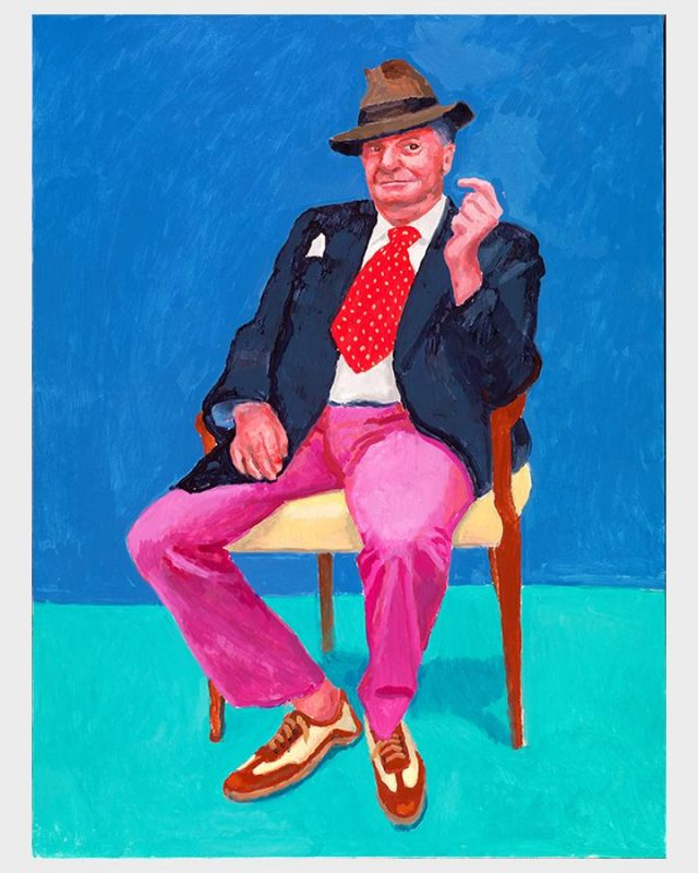 David Hockney at the Royal Academy of Arts @ Boca Raton Museum - in person