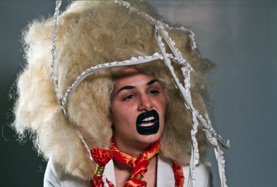 Jillian Mayer, I am your Grandma, 2011, video still, video. Courtesy of the Girls' Club Collection.
